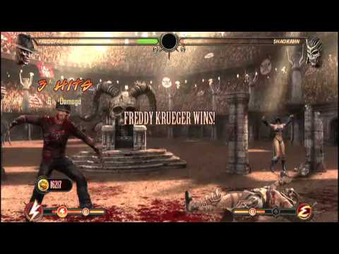 Freddy Krueger VS. Shao Kahn: Mortal Kombat