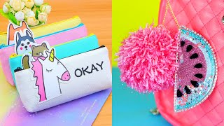 7 Easy DIY School Supplies! Cheap DIY Crafts for Back to School!