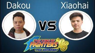 KOF 98 1vs1 - Dakou (大口) VS Xiaohai (小孩)【08•11•2018 FT15】
