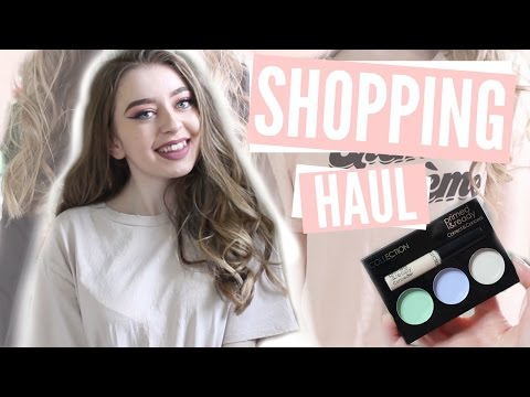 HUGE TRY ON CLOTHING & MAKEUP HAUL 2017! TOPSHOP, TOO FACED & MORE!