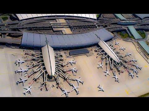 A Walk Through Terminal  2F, CDG, Paris