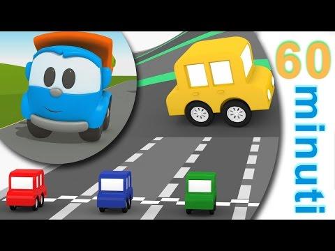 Cartoni animati per bambini - 60 minuti di gare di corsa! | Cartoni animati lunghi