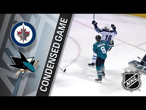 Winnipeg Jets vs San Jose Sharks – Jan. 23, 2018 | Game Highlights | NHL 2017/18. Обзор матча