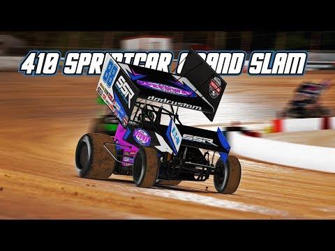 iRacing: 410 Sprintcar Grandslam (410 Sprintcars @ Lanier)