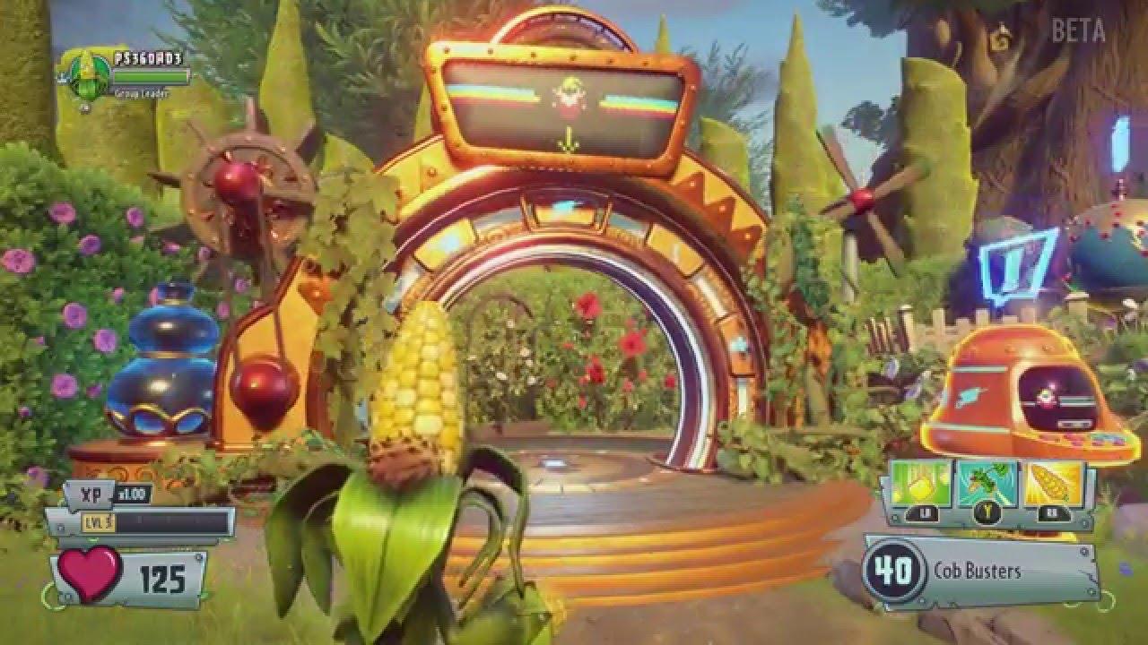 Plants vs Zombies: Garden Warfare 2 - 20 Minutes of Single Player ...