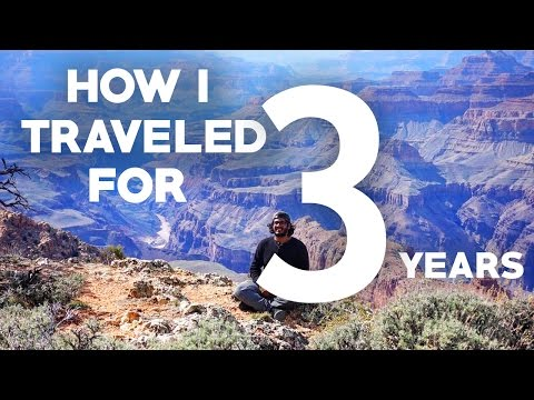 How I traveled for 3 YEARS! - Budget Travel Tips!