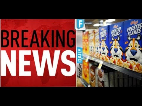 AMERICANS SICK AFTER FINDING WHAT KELLOGGS HAS BEEN SNEAKING INTO EVERY BOX OF CEREAL!