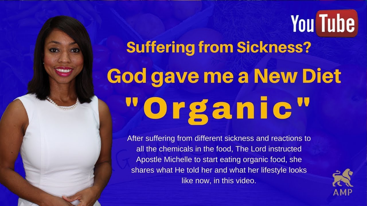 God's Diet Plan: My Organic Lifestyle (Eating Healthy with God)What God  told me -Apostle Michelle