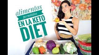 todo lo que puedas y no puedas comer con dieta cetosis
