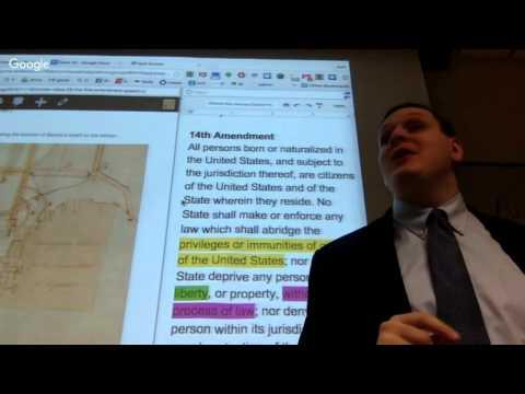 ConLaw Class 26 - The First Amendment – Speech I