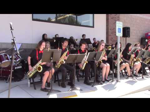 """Cool"" played by the Alderwood Middle School Jazz Band, Lynnwood, WA; May 30, 2015"