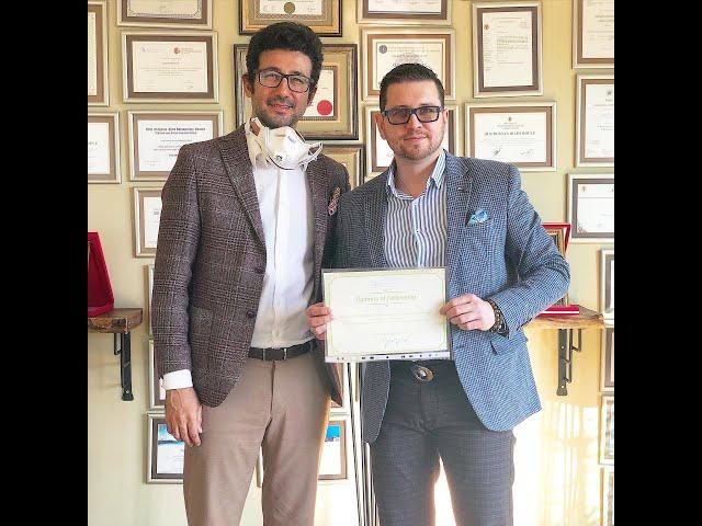 Closed atraumatic rhinoplasty fellowship program by dr. Tas with dr. Danila lupin
