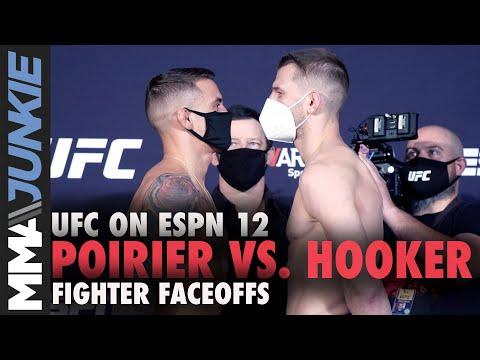 UFC On ESPN 12 Full Fight Card Faceoffs