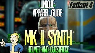Fallout 4 | Mark 2 Synth Helmet and Chestpiece | Unique Rare Apparel | Location Guide