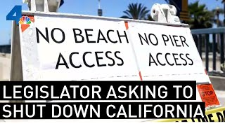 NewsConference:  Shutdown California Now | NBCLA
