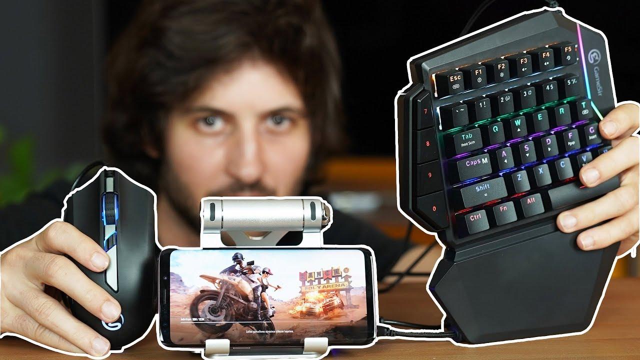 Pubg Mobile Oynamanin En Kolay Yolu Gamesir Klavye Mouse Gamepad Mercek Altinda Youtube