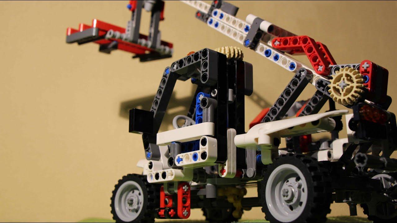 Lego Technic 8071 Telelader B Model - YouTube