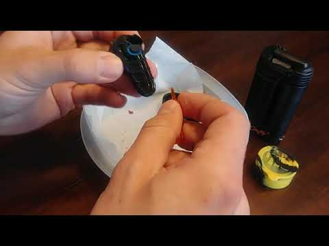 Storz & Bickel Crafty+ vape reclaim honey before cleaning