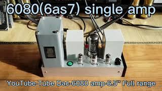 6080(6AS7) single Amp.