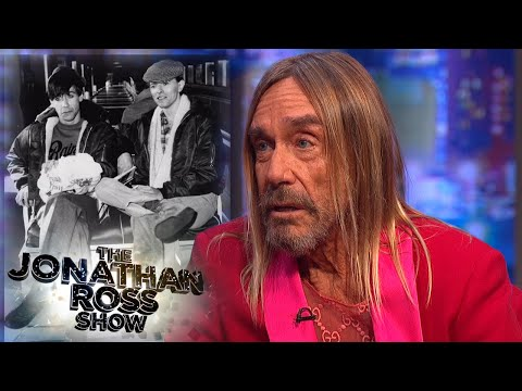 Iggy Pop On The Berlin Period with David Bowie | The Jonathan Ross Show