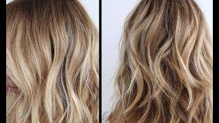 видео Быстрое восстановление волос после осветления