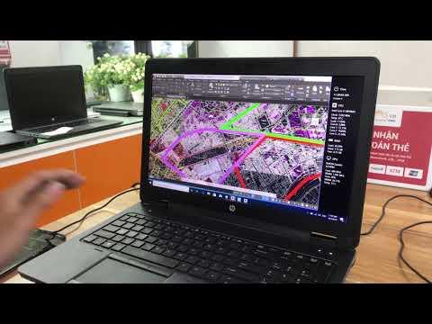 Trải nghiệm hiệu năng trên chiếc HP Zbook 15 G2 Core i7 4810MQ, Ram 16Gb, SSD 256, Card K2100M, màn