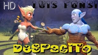 Luis Fonsi - Despacito - HD Anime