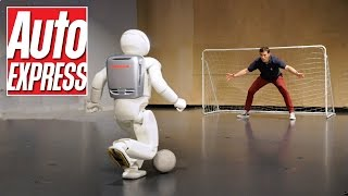 Honda's Asimo: the penalty-taking, bar-tending robot thumbnail
