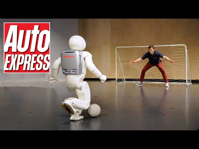 Honda's Asimo: the penalty-taking, bar-tending robot