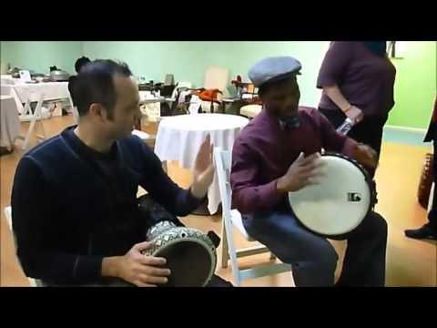 Karim Nagi Jammin' with WoSe Drummers at CIDF