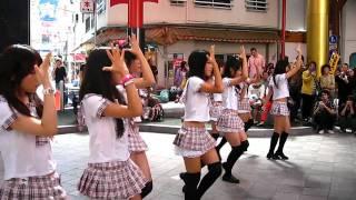 2010年10月10日 大須ふれあい広場でのOS☆U 路上ライブです SKE超えて欲...