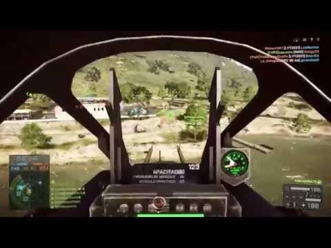 Partida con el caza de ataque BF4 PS4