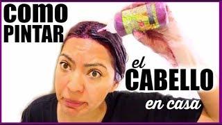 ME PINTE EL CABELLO MORADO/ROJIZO Y ASI QUEDE! ♥BeautybyNena