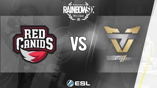 Rainbow Six Pro League - Season 7 - LATAM - RED Canids vs. Team oNe eSports - Week 3