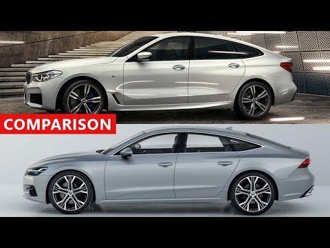 2018 Audi A7 Sportback Vs 2018 Bmw 6 Series Gran Turismo Comparison