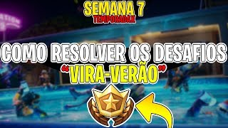 HOW TO SOLVE ALL THE MISSIONS: SUMMER! SECRET CATEGORY LOCATION! FORTNITE
