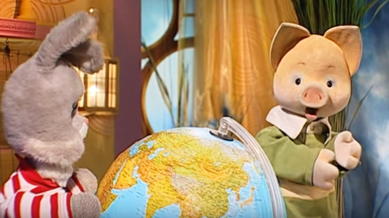 Кругосветное путешествие вместе с Хрюшей - Обучающие передачи для детей - Интересная география