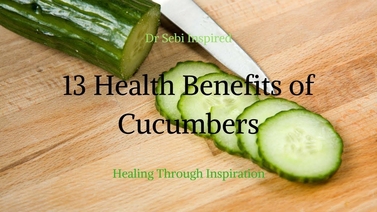 Dr Sebi Diet Hair Strengthening 13 MORE Health Benefits of Cucumbers