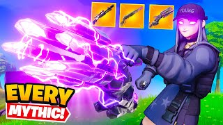 We got EVERY *MYTHIC* Weapon (OVERPOWERED)