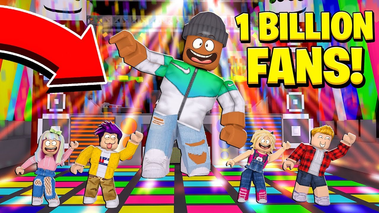 I Became The Biggest Dancer And Got 1 000 000 000 000 Fans Roblox