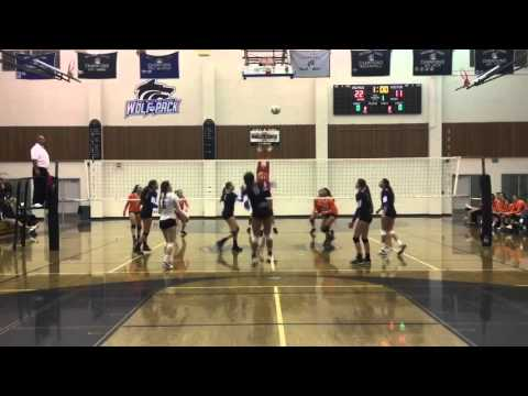 Lindsay Campbell #6 Libero Highlights West Hills HS vs Valhalla Class of 2017