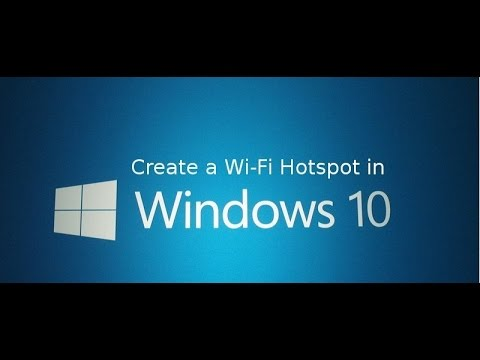 Create wifi hotspot in windows 8 to share internet Travel Video