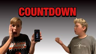 COUNTDOWN THE REAL APP