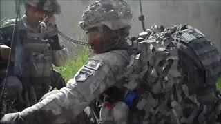 Война в Афганистане. Бой американских десантников с талибами (2015)