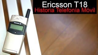 Ericsson T18, anunciado en 1999 | Historia Telefonía Móvil