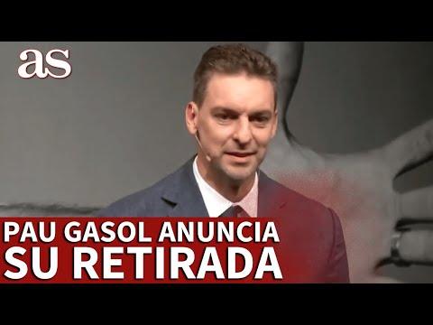 Pau Gasol anuncia su retiro del baloncesto