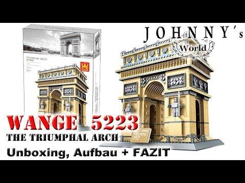 Wange 5223 The Triumphal Arch Of Paris Triumphbogen Unboxing