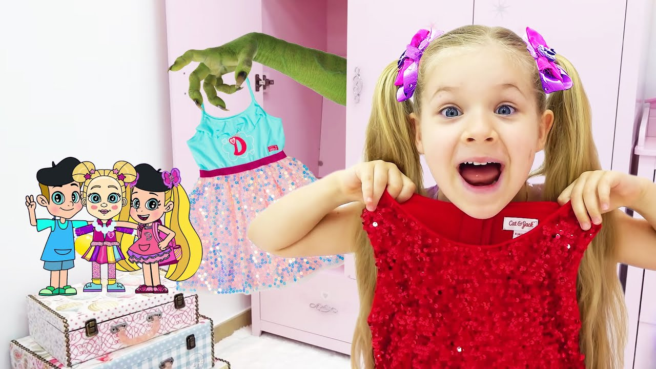 Diana and Roma Adventure in a Magical Cartoon World! Сompilation NEW Funny Cartoons for kids