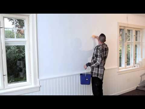 Så reparerar du mindre hål och sprickor i väggar och tak