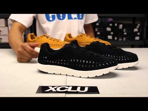Nike Mayfly Woven QS - Black - White Unboxing Video At Exclucity
